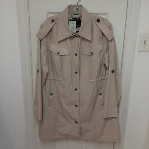 New with tags beige coat